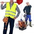 Construction duo — Stock Photo #11637196