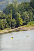 Canoeing in the Tarn Valley, France — Stock Photo