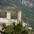 Stock Photo: Old castle in the mountains