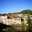Typical French town — Stock Photo #11675668