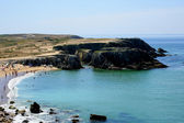 Distant shot of a cove — Stock Photo