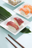Assorted sushi — Stock Photo
