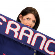 French football fan — Photo