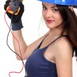 Sexy electrician. — Stock Photo #11752353