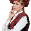 Scottish woman — Stock Photo #11753836