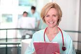 женщина-врач — Стоковое фото