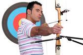 An archer. — Stock Photo