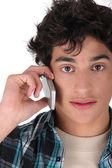 Teen on the phone — Stock Photo