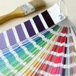 Foto Stock: Color swatch