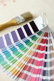 Próbki koloru — Zdjęcie stockowe