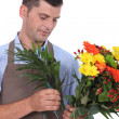 Stock Photo: Portrait of florist