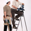Two handymen at work. — Stock Photo #11846072