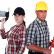 Plumbing team — Stock Photo #11846115