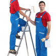 Team of painters — Stock Photo #11846221