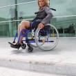 Woman in a wheelchair — Stock Photo #11846578