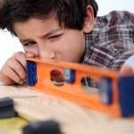 Carpenter Child — Stock Photo #11846620