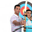 Stock Photo: Archery