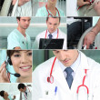 Health professionals — Stock Photo