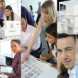 Stock Photo: Images of architects working