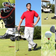 Menjoying round of golf — Stock Photo #11847281