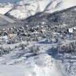 Stock Photo: Village in the winter