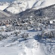 Village in the winter — Stock Photo
