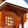 Snowy cabin — Stock Photo #11847469