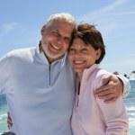 Senior couple by the sea — Stock Photo #11847559