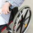 Person in a wheelchair — Stock Photo #11847678