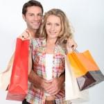Couple shopping — Stock Photo