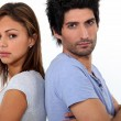 Couple in a bad mood — Stock Photo #11848310