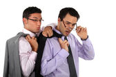 Curious business professionals — Stock Photo