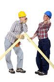 Female builders — Stock Photo