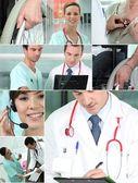 Health professionals — Stock Photo
