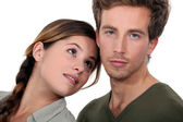 Young couple posing — Stock Photo