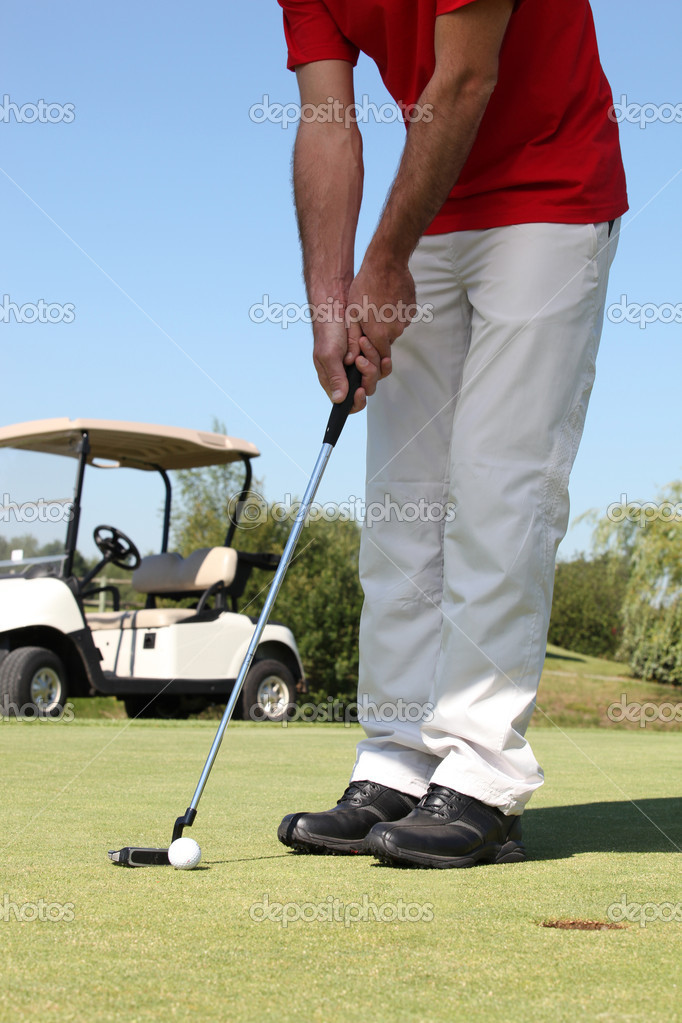 Putting. — Stock Photo #11847813