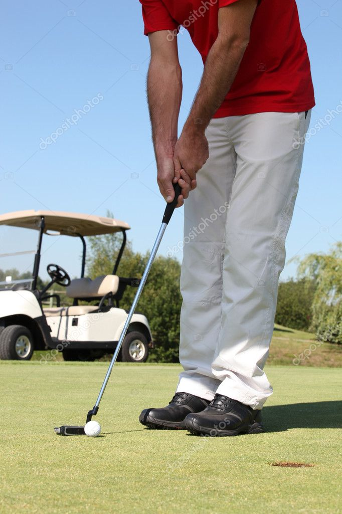 Putting. — Stockfoto #11847813