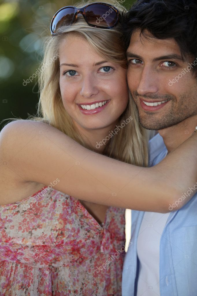 Young couple in love — Stock Photo #11848260