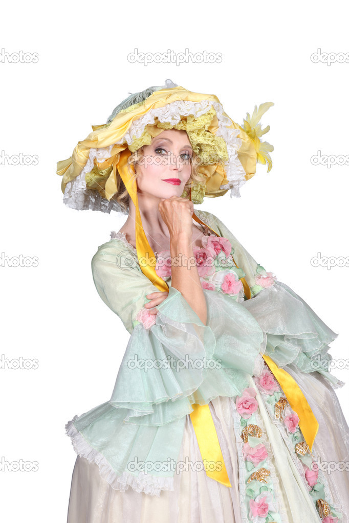 18th century fashion style  Stock Photo #11848646