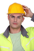 Upset worker — Stock Photo
