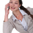 Cute businesswoman on the phone — Stock Photo #11861190