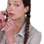Executive female over the phone. — Stock Photo #11861222