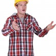 Stunned tradesman — Stock Photo #11862556