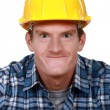Tradesman making a silly face — Stock Photo #11862683