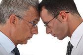 Empresários de raciocinio — Foto Stock