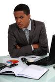 Disgruntled Executive — Stock Photo