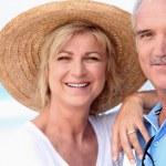 Portrait of Senior couple — Stock Photo #11887611