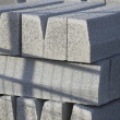 Grey concrete blocks — Stock Photo