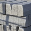 Stock Photo: Grey concrete blocks