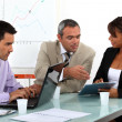 Working meeting — Stock Photo #11896578